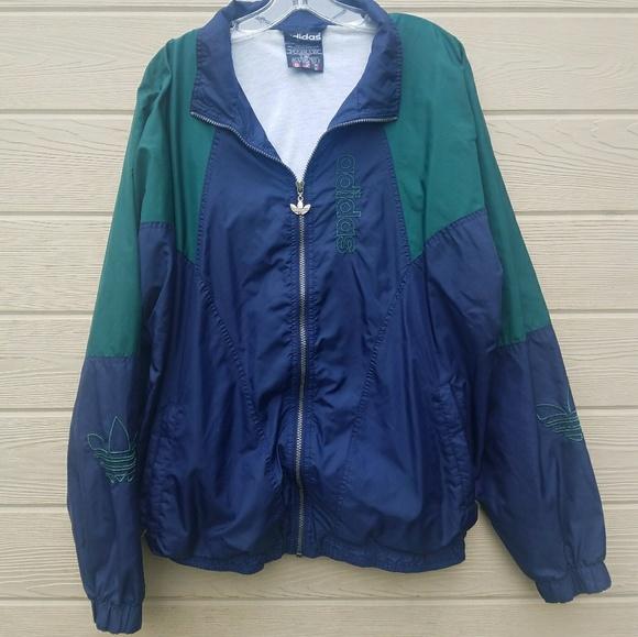 84ed9d204741 adidas Other - Vintage 90s Mens Vintage Adidas Nylon Track Jacket